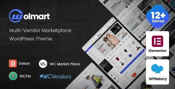 Wolmart | Multi-Vendor Marketplace WooCommerce Theme - eCommerce WordPress