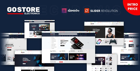 GoStore - Elementor WooCommerce WordPress Theme - WooCommerce eCommerce