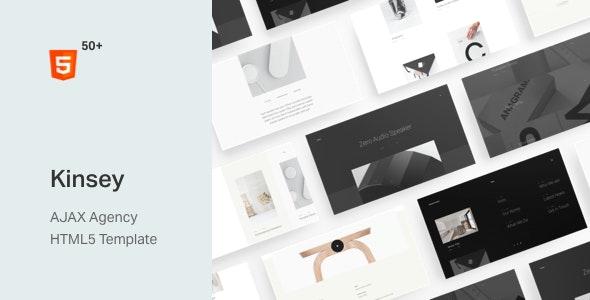Kinsey – AJAX Agency HTML5 Template - Portfolio Creative