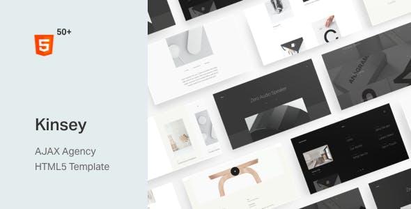Kinsey – AJAX Agency HTML5 Template