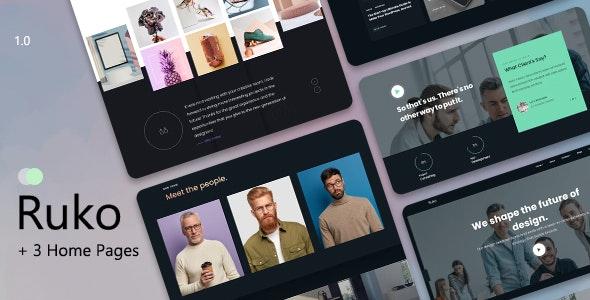 Ruko - Creative Agency & Showcase Portfolio - Portfolio Creative