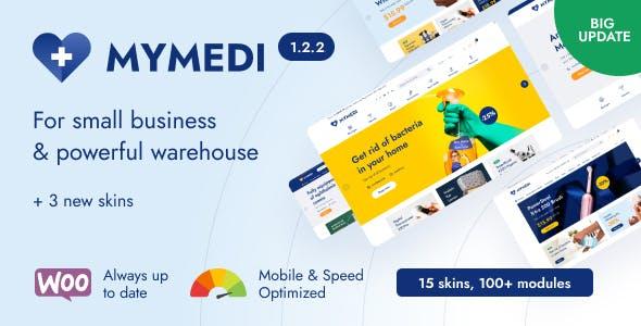 MyMedi - Responsive WooCommerce WordPress Theme
