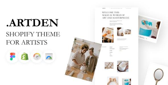 Artden - Shopify Theme for Artists