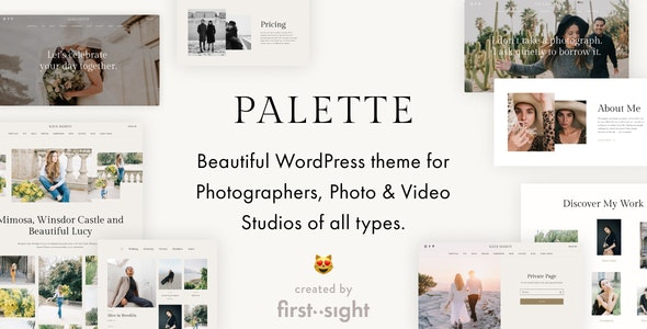 Palette — Photography Portfolio Multipurpose WordPress Theme - Photography Creative