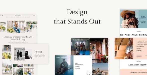 Palette — Photography Portfolio Multipurpose WordPress Theme