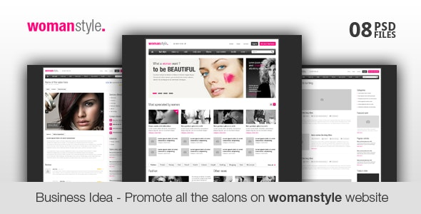 WomanStyle - Blog Magazine News Editorial - Business Corporate