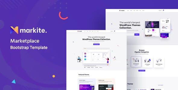 Markit - Digital Marketplace  HTML5 Template
