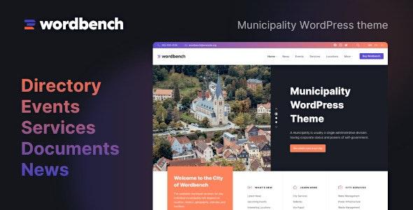 Wordbench - Municipality WordPress Theme - Nonprofit WordPress