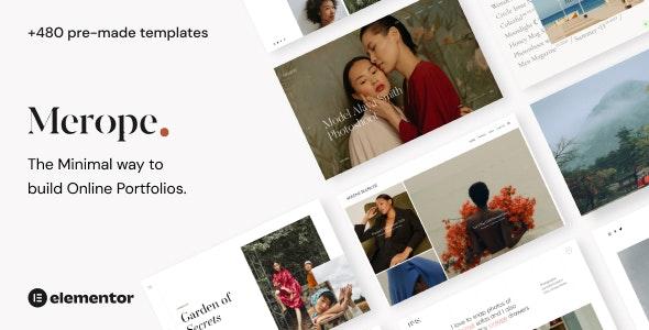 Merope - Photography WordPress Theme - Photography Creative