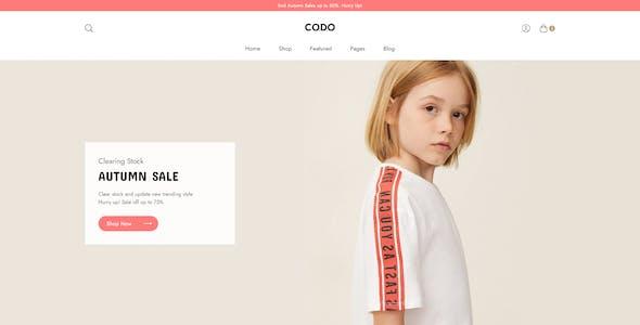 Codo - Minimalist eCommerce Adobe XD templates