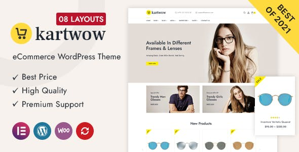 Kartwow Multipurpose WooCommerce Theme