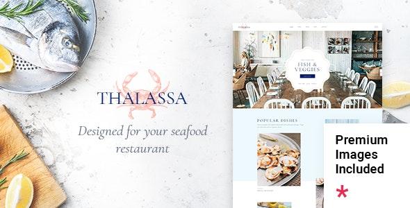 Thalassa - Seafood Restaurant Theme - Restaurants & Cafes Entertainment