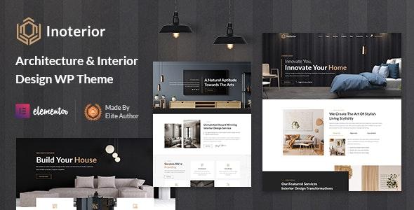 Inoterior - Architecture & Interior Designer WordPress Theme - Portfolio Creative