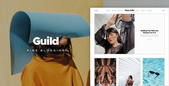 Guild — A Fine WordPress Blogging Theme - Personal Blog / Magazine