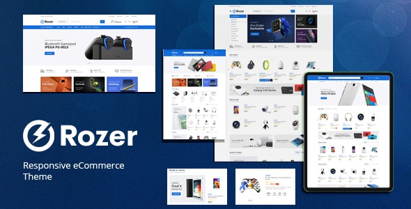 Rozer v1.0 – Digital Responsive OpenCart Theme (Included Color Swatches)