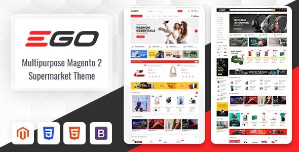 Ego - Marketplace Multipurpose Magento 2 Theme - Magento eCommerce