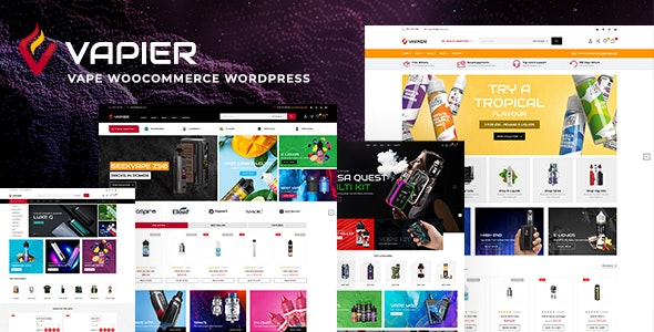 Vapier – Vape Store WooCommerce WordPress Theme - WooCommerce eCommerce