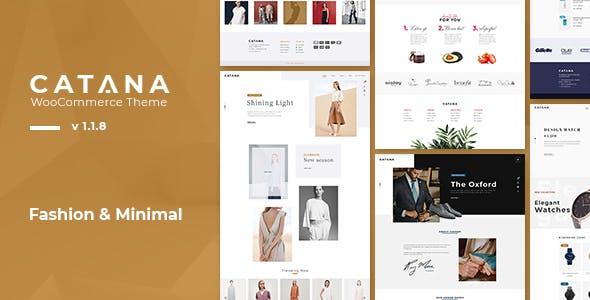 Catana - Fashion & Minimal WooCommerce WordPress Theme