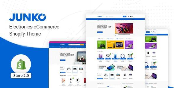 Junko - Electronics eCommerce Shopify Theme