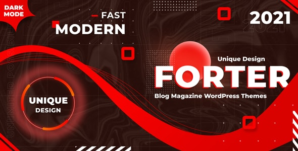 Forter - Magazine and Blog WordPress Theme - News / Editorial Blog / Magazine