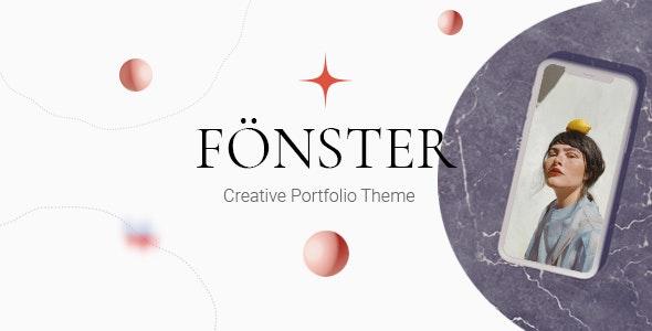 Fönster - Creative Portfolio Theme - Portfolio Creative