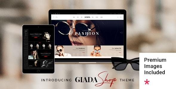 Giada - Jewelry and Watch Store - WooCommerce eCommerce