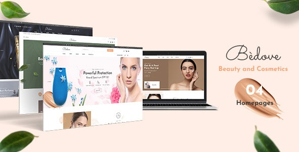 Bedove - Cosmetics, Beauty and Spa Shopify Theme - Shopify eCommerce