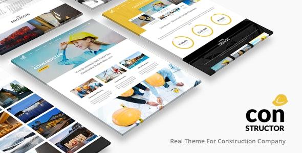 Constructor | Construction WordPress - Business Corporate