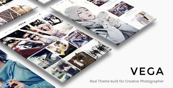 Vega | Photography WordPress - Photography Creative