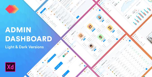 Arion – Admin Dashboard & UI Kit Adobe XD Template