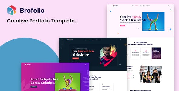 Broflio - Creative Portfolio HTML5 Template