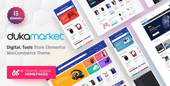 DukaMarket - Multipurpose WordPress Theme - WooCommerce eCommerce
