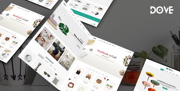 Dove   Handmade Crafts WooCommerce WordPress Theme - WooCommerce eCommerce