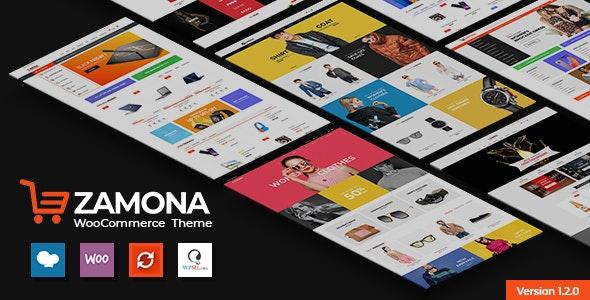 Zamona - Responsive WooCommerce WordPress Theme - WooCommerce eCommerce