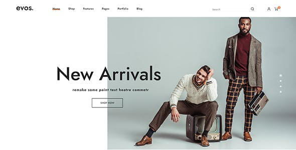 Evos Elementor - Multipurpose eCommerce Prestashop Theme