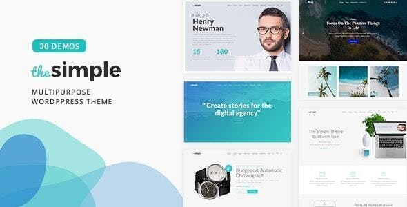 The Simple - Business WordPress Theme - Business Corporate