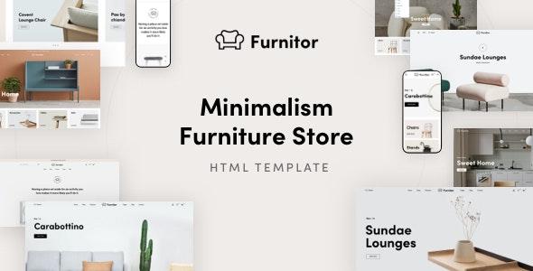 Furnitor - Minimalism Furniture Store HTML Template - Shopping Retail