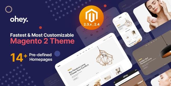 Ohey - Multipurpose Sections Magento 2 Theme - Shopping Magento