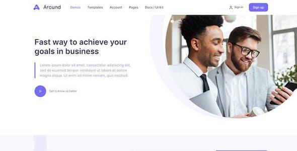 Around - Multipurpose Business WordPress Theme