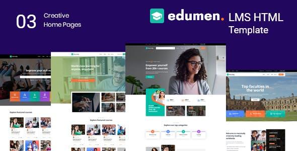 Edumen – Education HTML Template