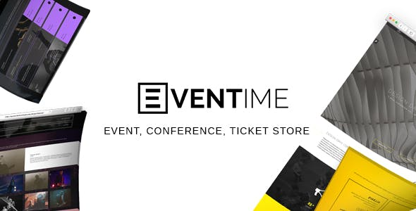 Eventime - Conference, Event, Fest, Ticket Store Theme