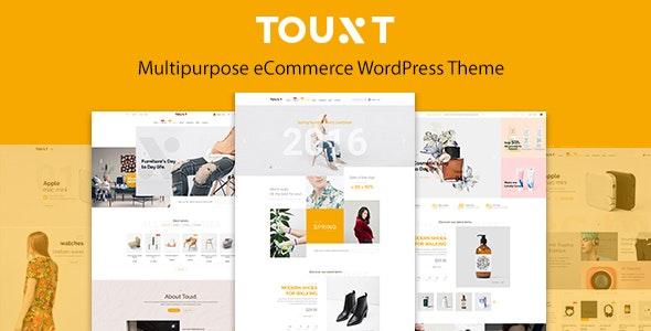 Touxt Multipurpose WooCommerce WordPress Theme - WooCommerce eCommerce