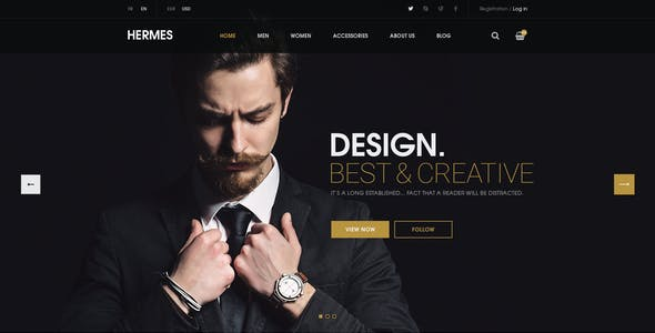 Hermes - Multi-Purpose Premium Responsive WordPress Theme