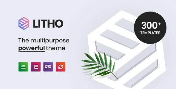 Litho - Multipurpose Elementor WordPress Theme - Business Corporate
