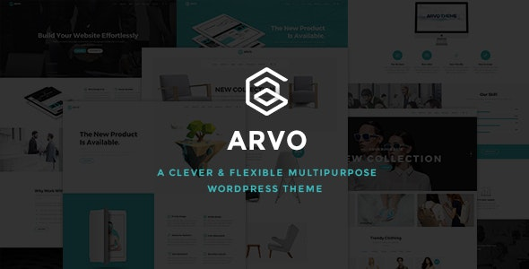 Arvo - A Clever & Flexible Multipurpose WordPress Theme - Creative WordPress
