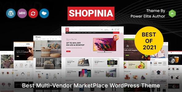 Shopinia - Multipurpose WooCommerce Theme - WooCommerce eCommerce