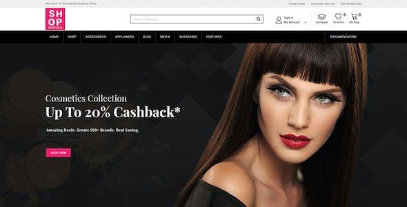 Shopinia - Multipurpose WooCommerce Theme