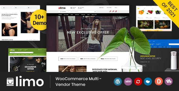 Limo - Multipurpose WooCommerce Theme