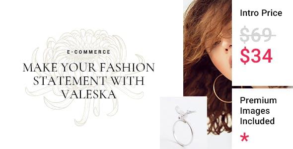 Valeska - Fashion eCommerce Theme