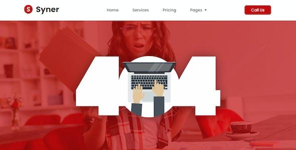 Syner - Creative Agency Elementor Template Kit